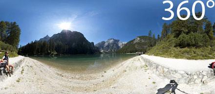 360° Pragser Wildsee