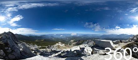 360° Weißhorn Bletterbach