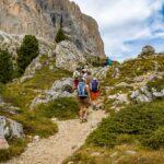 Wandern in der Langkofelgruppe