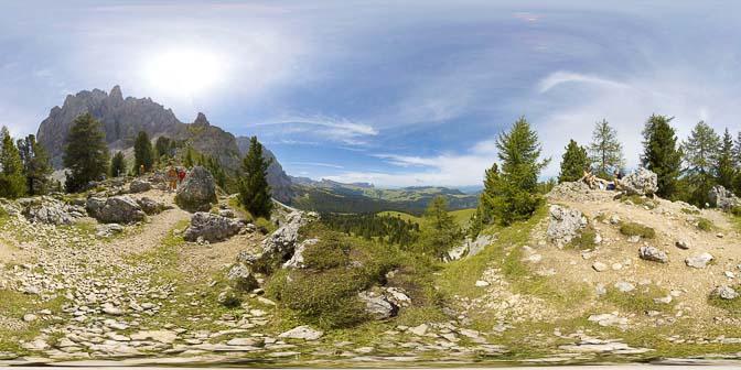 360° Langkofel Ostseite
