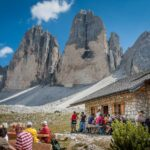 Die Drei Zinnen in Südtirol