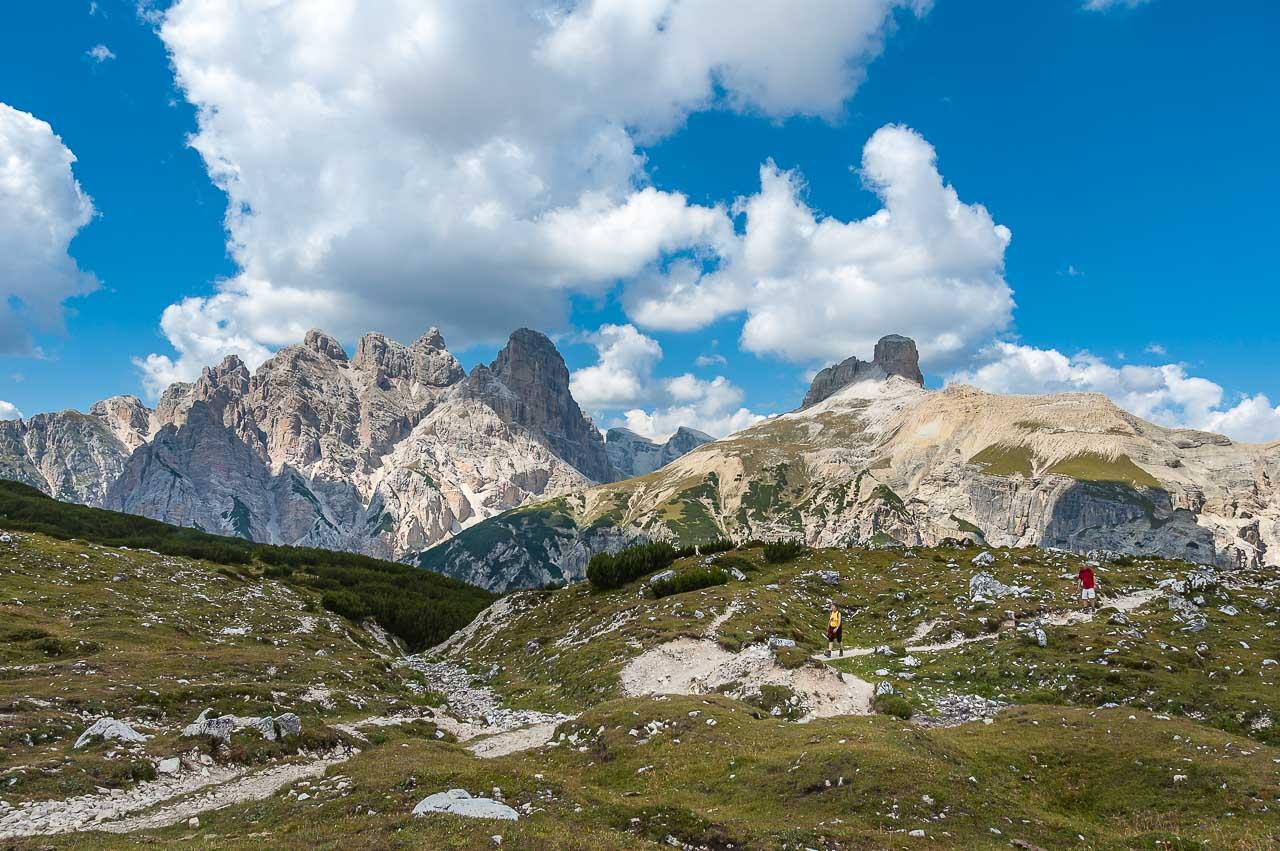 Rundwanderung Drei Zinnen - die Dolomitenwelt Richtung Norden