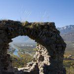 Ruinen in Castelfeder über Auer