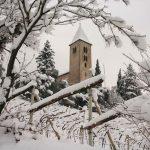 St. Jakob Kirche im Winter