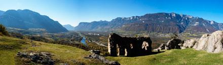 Castelfeder im Südtiroler Unterland
