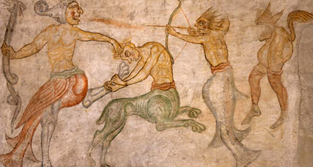Fresken in der Kirche St. Jakob auf Kastelaz
