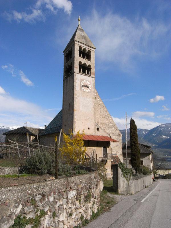 Kirche in Söll bei Tramin