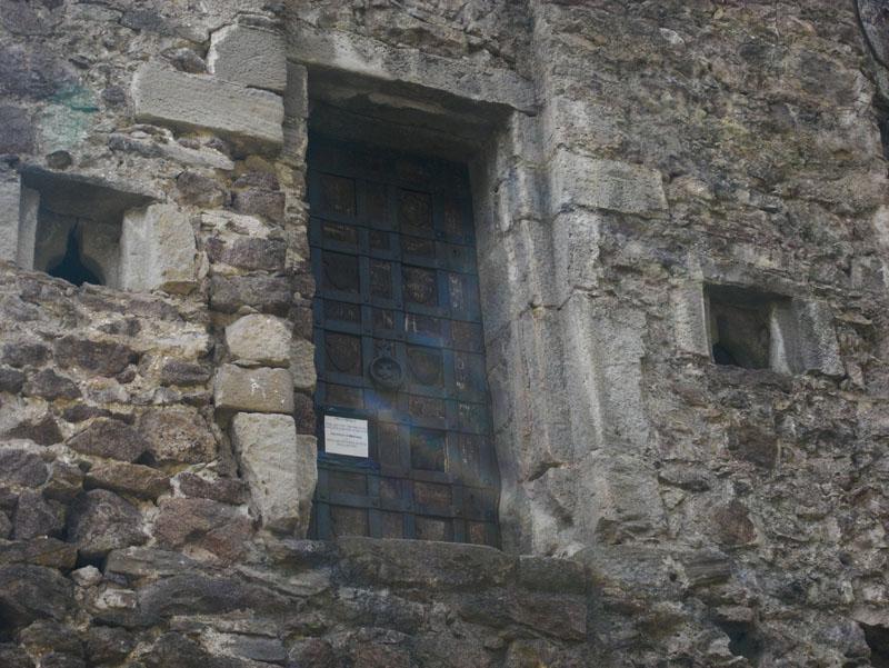 Tor der Ruine Felsenstein über Andrian