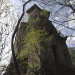 Die Burg Felsenstein über Andrian