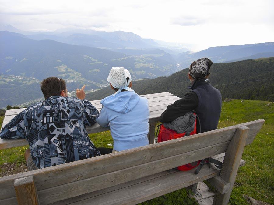 Wanderung Garner Wetterkreuz Radlsee Königanger