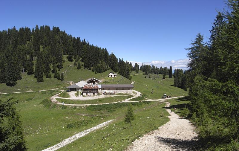 Alm in Südtirols Süden