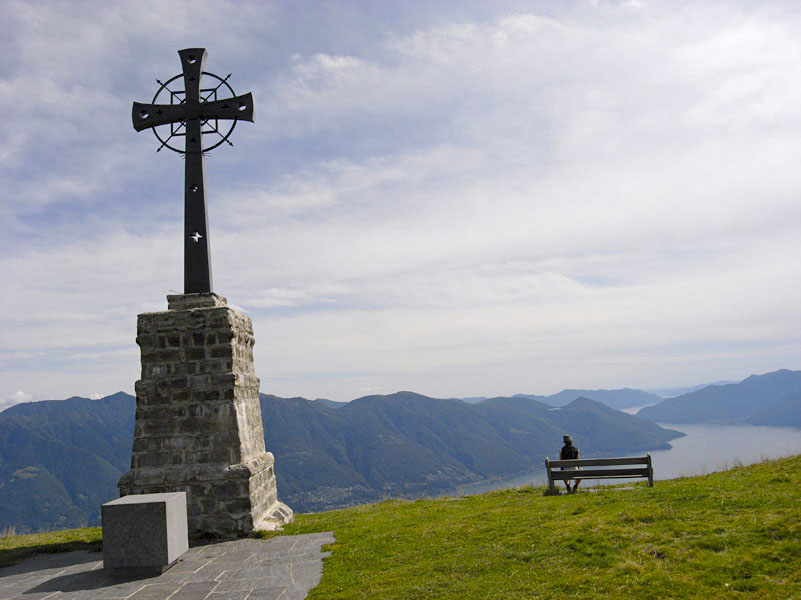 Wanderung Cardada Cimetta Lago Maggiore