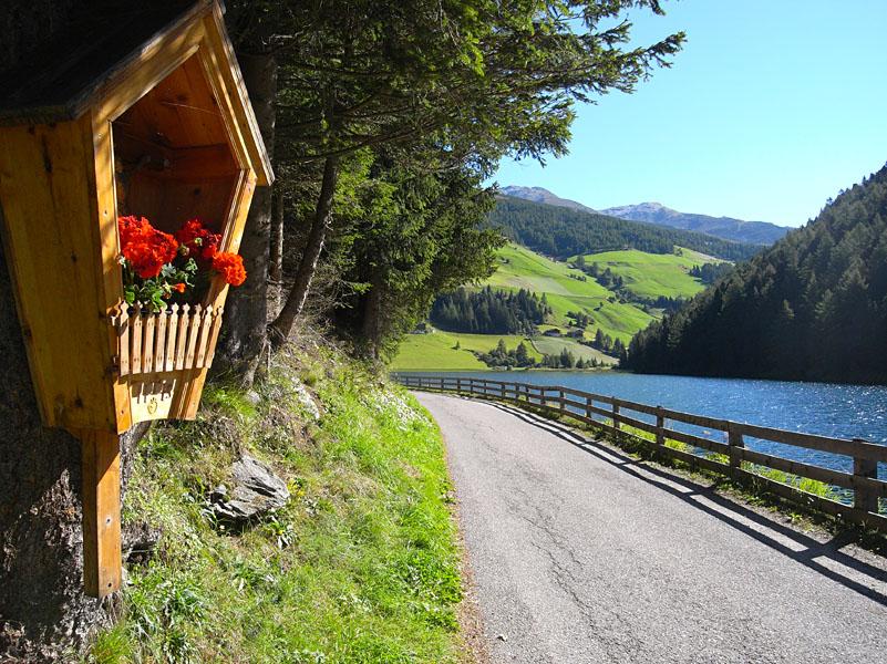 Durnholzersee im Sarntal nahe Bozen