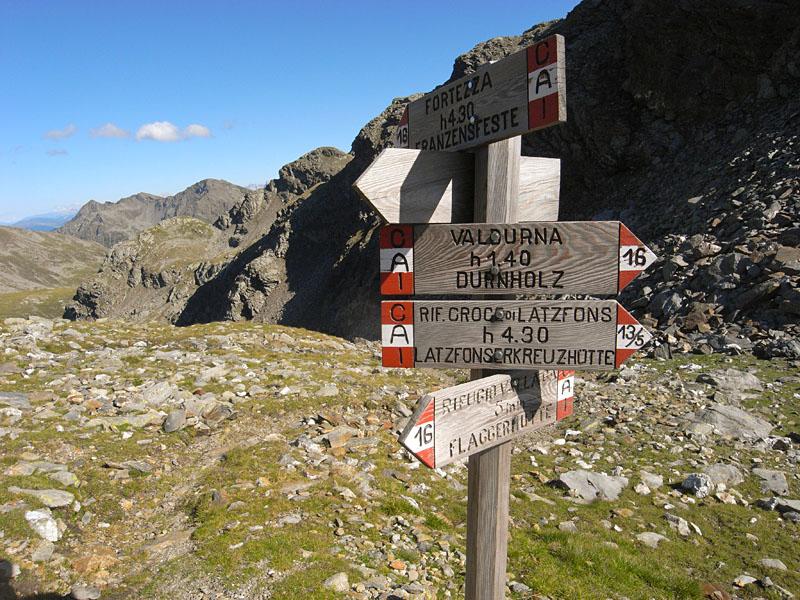 Wanderwege in den Dolomiten