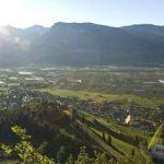 Tramin im Süden Südtirols
