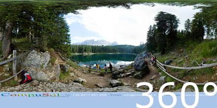 Karersee 360° Foto