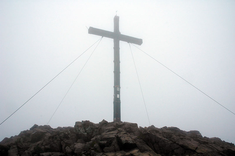 Gipfel der Laugenspitze