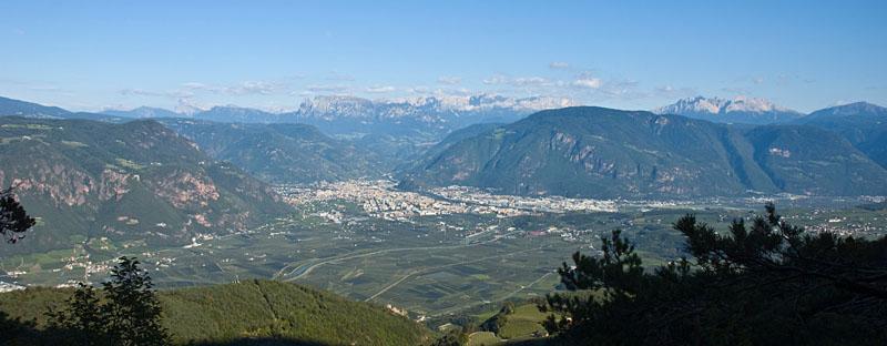 Bergpanorama in Südtirol