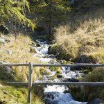 Wasserreich ist der Wanderweg im Schnalstal