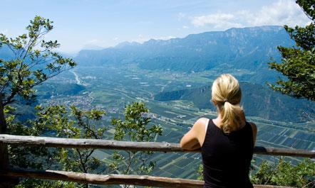 Sibille schaut ins Südtiroler Unterland