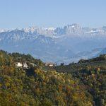 Ein wunderschöner Ausblick auf König Laurins Rosengarten