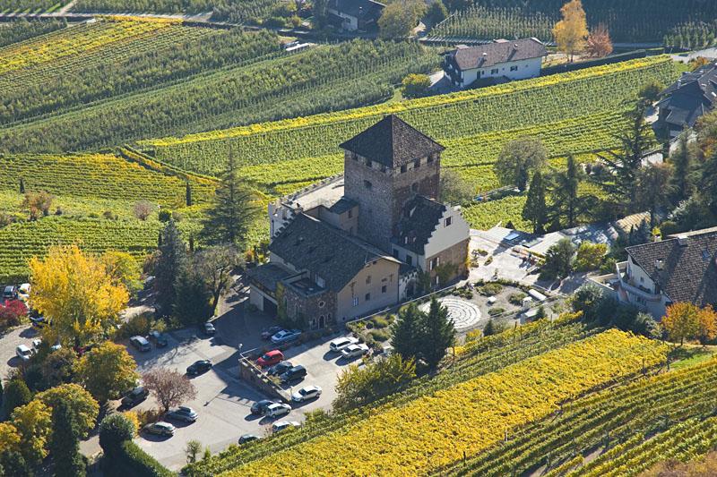 Schloss Hotel Korb von oben gesehen