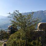 Die auch Sauschloss genannte Ruine Greifenstein