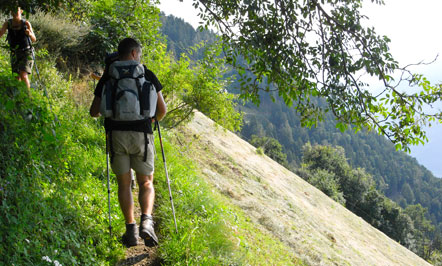 Wanderung Muthöfe über Dorf Tirol