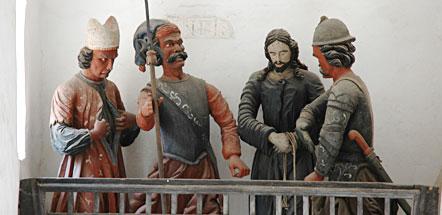 Kreuzgang Wallfahrtskirche San Romedio