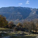 Bergpanorama von Castelfeder aus