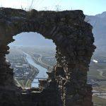 Blick auf die Etsch in Südtirols Süden