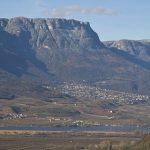 Das Mendelgebirge mit dem Gantkofel
