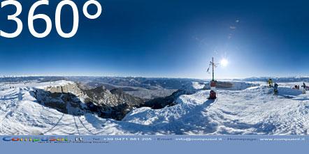 360° Foto vom Roen im Winter