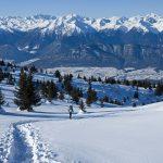 Schneeschuhwandern auf dem Roen