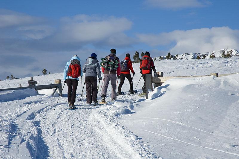 Schneeschuhwanderung Villanderer Alm