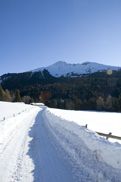 Schneeschuhwanderung Radein Jochgrimm