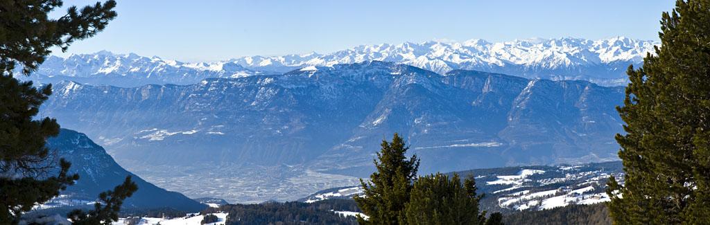 Tramin und das Mendelgebirge