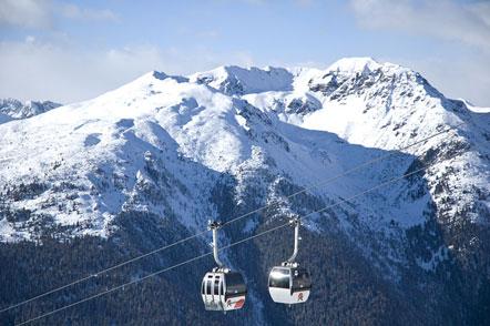 Kabinenbahn Skigebiet Reinwald