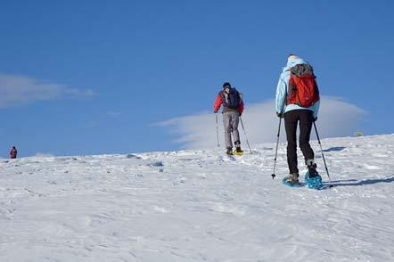 Schneeschuhwanderung auf der Villanderer Alm