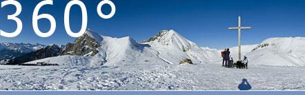 360° Rundumschau Spieler Spitze bei Meran2000