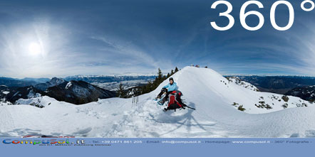 360° Foto Corno di Tres (1.812 m)