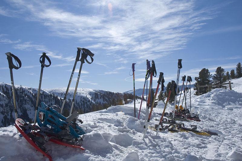 Vom Skigebiet Reinswald zur Getrumalm
