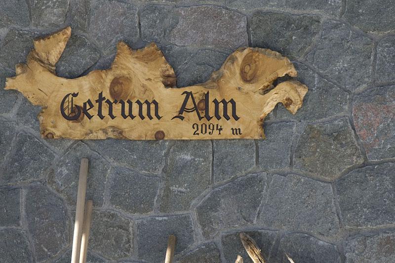 Getrumalm im Durnholzertal