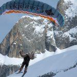 Ski Gliding auf der Marmolata