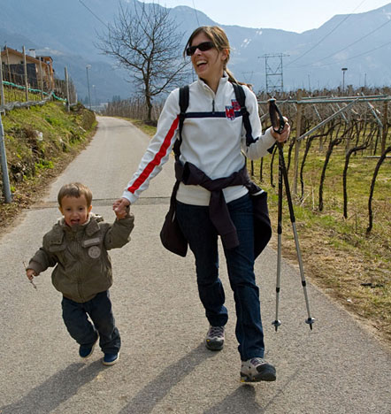 Laurin mit Mama Stefanie
