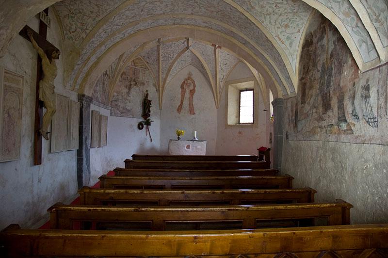 St. Ägidius Kirchlein in Kortsch/Schlanders