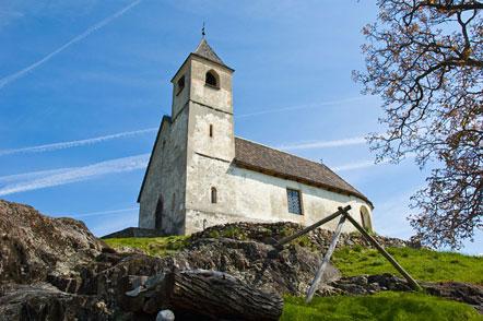 St. Hippolyt Kirchlein bei Tisens