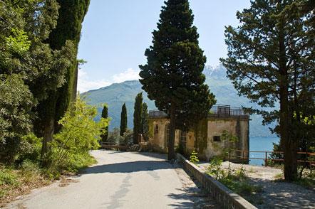 Belvedere über dem Gardasee