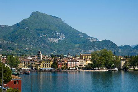 Riva del Garda am Gardasee - Ausgangspunkt für unsere heutige Wanderung über die Ponale-Panoramastraße
