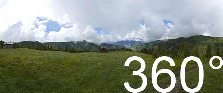 360° Rundumblick bei der Rupertihütte